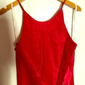 Women's Red formal gown